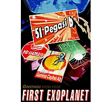 Visions of the future- First Exoplanet Photographic Print