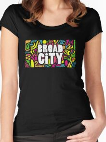 Broad City #3 Women's Fitted Scoop T-Shirt