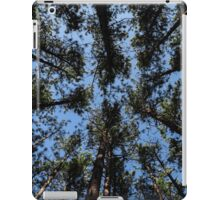 Brown Trees Green Leaves iPad Case/Skin