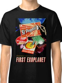 Visions of the future- First Exoplanet Classic T-Shirt