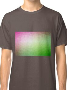 Gradient Triangle Abstract 6 Classic T-Shirt