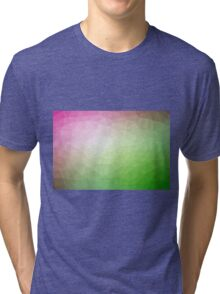 Gradient Triangle Abstract 6 Tri-blend T-Shirt