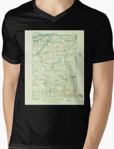 New York NY Moira 130601 1915 62500 Mens V-Neck T-Shirt