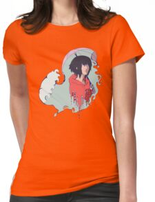 In The Rain  Womens Fitted T-Shirt