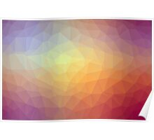 Gradient Triangle Abstract 10 Poster