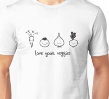 Love Your Veggies Unisex T-Shirt