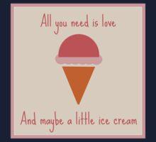 Love & ice cream Kids Tee
