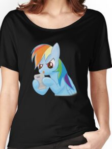 rainbow dash gaming Women's Relaxed Fit T-Shirt
