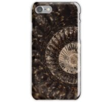 whorls of ammonite iPhone Case/Skin