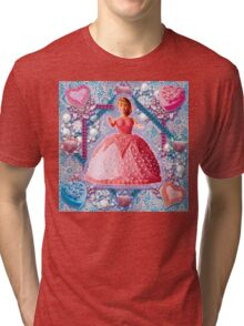 Queen of Cakes Tri-blend T-Shirt