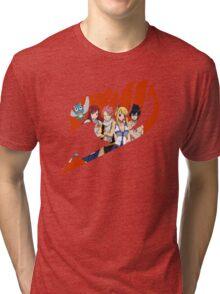 Fairy Tail Crew Red Tri-blend T-Shirt