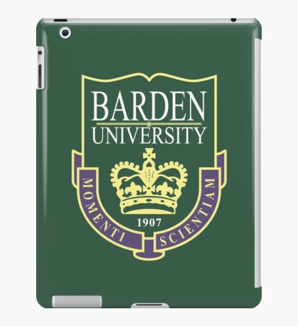 Barden University iPad Case/Skin