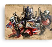 Transformers - Optimus Prime Metal Print