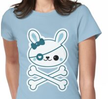 Cute Pirate Bunny Womens Fitted T-Shirt