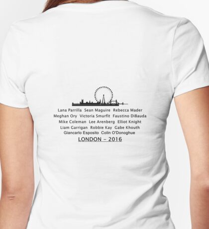 LONDON - 2016  Womens Fitted T-Shirt