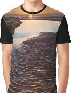 Ripples in the sand Graphic T-Shirt