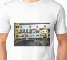 Ponte Vecchio - left side Unisex T-Shirt