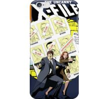 The Uncanny X-Files iPhone Case/Skin