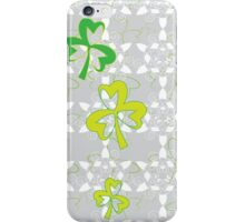 Lucky Shamrock iPhone Case/Skin