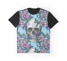 Skulls, Roses, and Deadly Nightshade Graphic T-Shirt