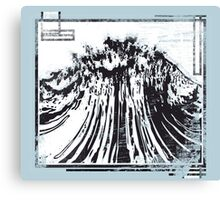 Raging Torrent Of Waves // Atomic Bomb  Canvas Print