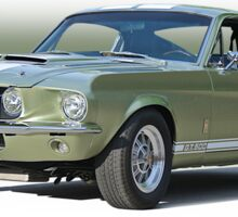 1967 Mustang 'Shelby GT 500' Sticker
