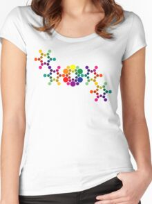 Color Wheel DNA Women's Fitted Scoop T-Shirt