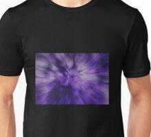 Purple Radial Zoom Unisex T-Shirt