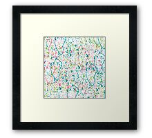 Abstract pattern 17 Framed Print
