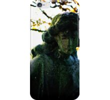 Cemeteries - emotive statue, Allegheny (2009) iPhone Case/Skin