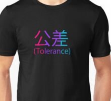 Tolerance(of being Andro) Unisex T-Shirt