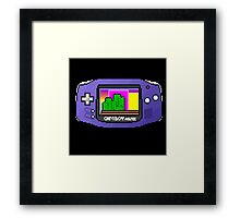 game boy advance Framed Print
