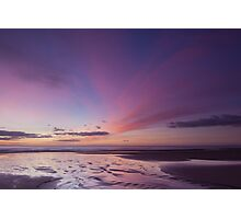 sunrise, forvie sands (2) Photographic Print