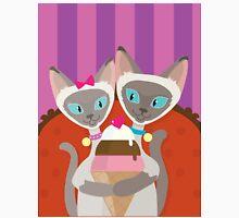 Siamese Cats Ice Cream Unisex T-Shirt