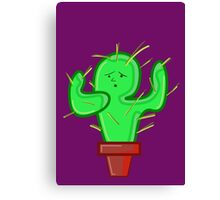 CACTI CHRIS Canvas Print
