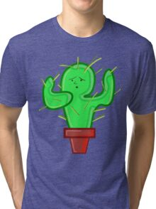 CACTI CHRIS Tri-blend T-Shirt