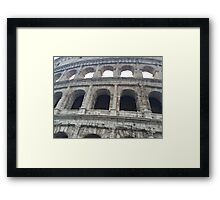 Colosseum Close-Up Framed Print