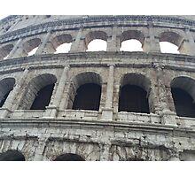 Colosseum Close-Up Photographic Print