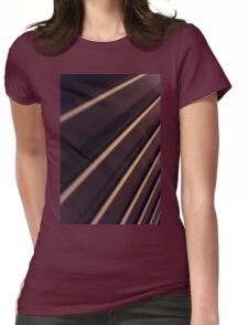 Spiral Lines : abstract Womens Fitted T-Shirt