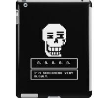 Undertale - Papyrus iPad Case/Skin