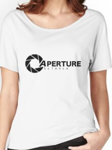 Portal Aperture Women's Relaxed Fit T-Shirt