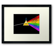 The dark side of Gravity falls  Framed Print