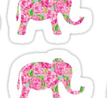 Mini Rose Elephants Sticker