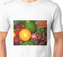 Fruit and Vegetable Collage 6 Unisex T-Shirt