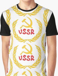 ussr Graphic T-Shirt