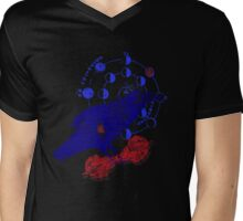 Cosmic Crow Mens V-Neck T-Shirt
