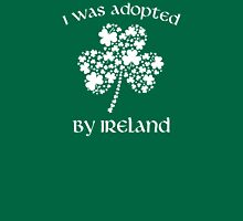I Was Adopted By Ireland Womens Fitted T-Shirt