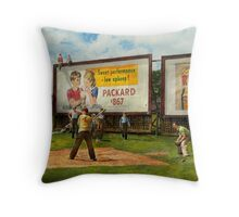Sport - Baseball - America's past time 1943 Throw Pillow
