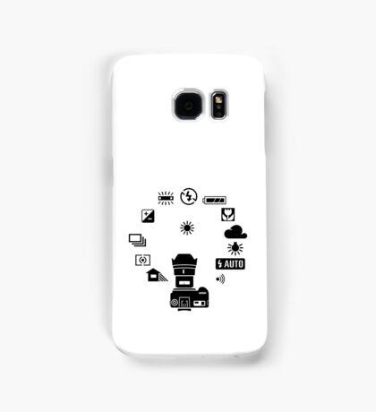Camera settings control Dial Samsung Galaxy Case/Skin