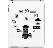 Camera settings control Dial iPad Case/Skin